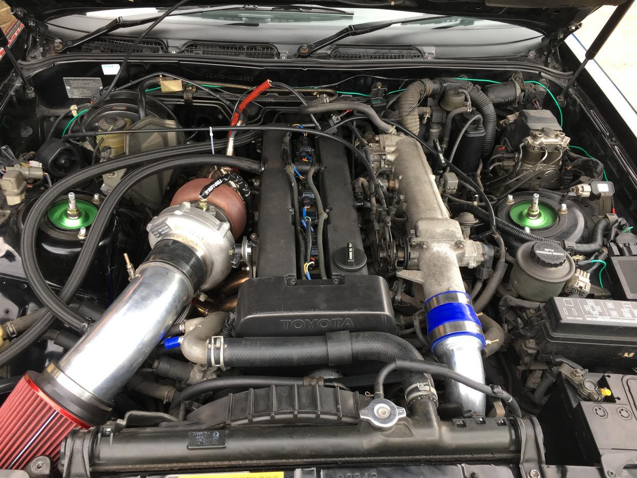 Toyota Supra 1JZ GTE Single Turbo